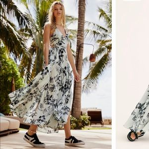 Free people Lillie printed maxi